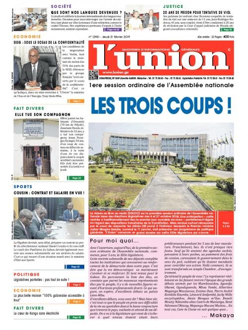 L'Union 21/02/2019