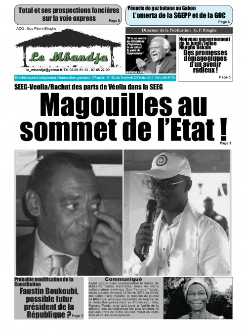 Le Mbandja 22/02/2019
