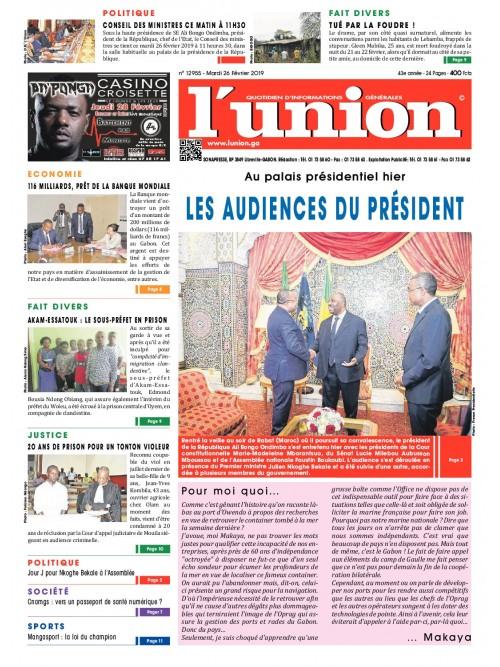 L'Union 26/02/2019