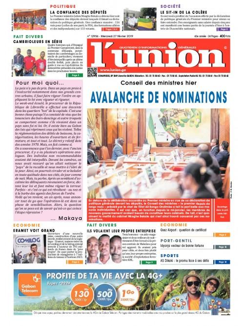 L'Union 27/02/2019