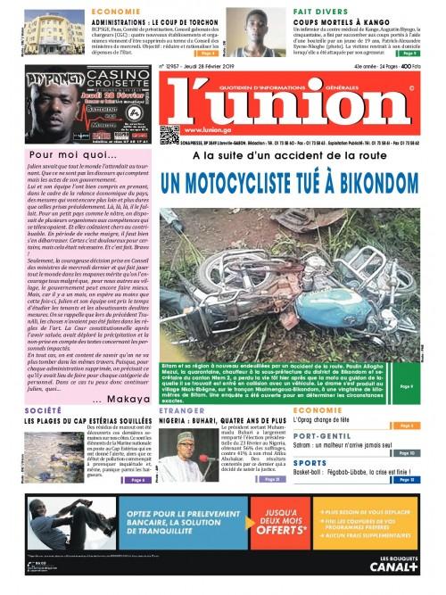 L'Union 28/02/2019