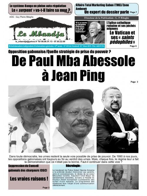 Le Mbandja 01/03/2019