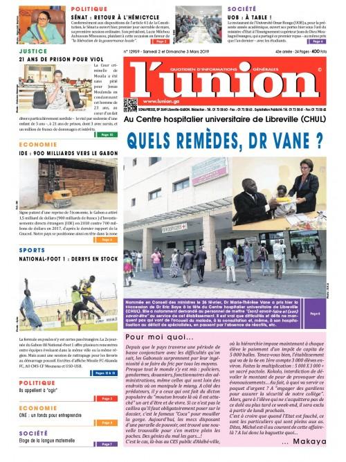 L'Union 02/03/2019