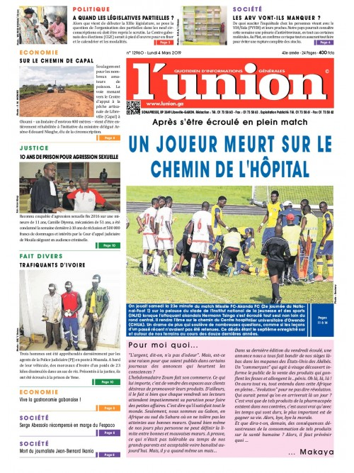L'Union 04/03/2019