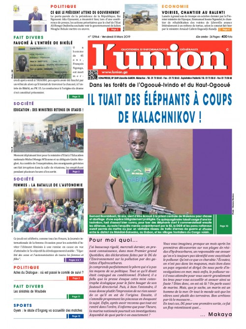 L'Union 08/03/2019