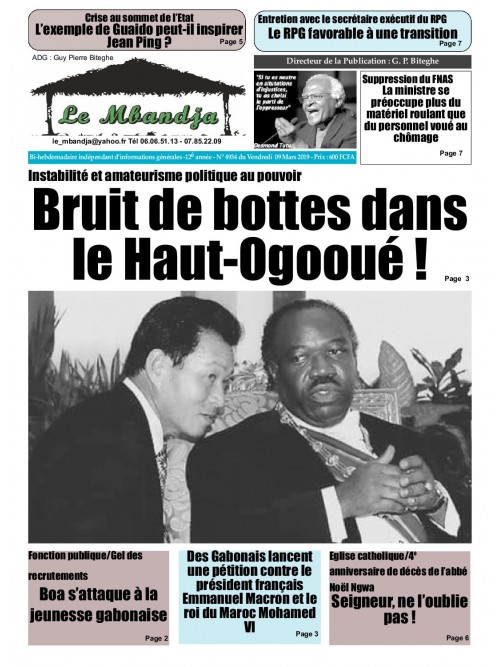 Le Mbandja 08/03/2019