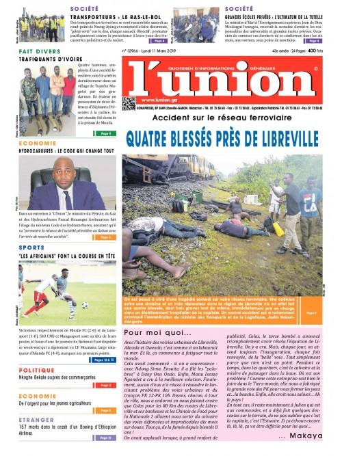 L'Union 11/03/2019