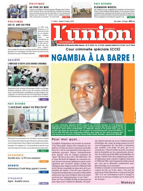 L'Union 12/03/2019