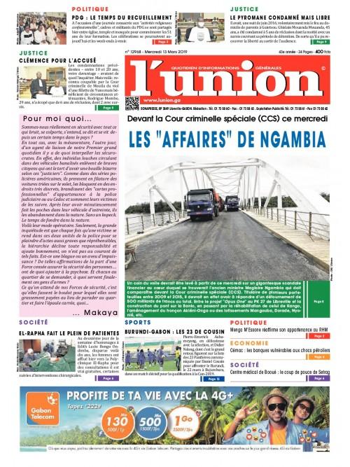 L'Union 13/03/2019