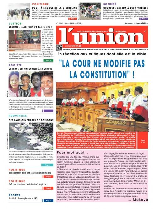 L'Union 14/03/2019