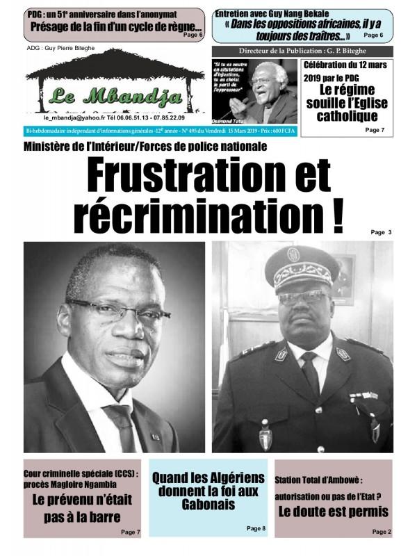 Le Mbandja 15/03/2019