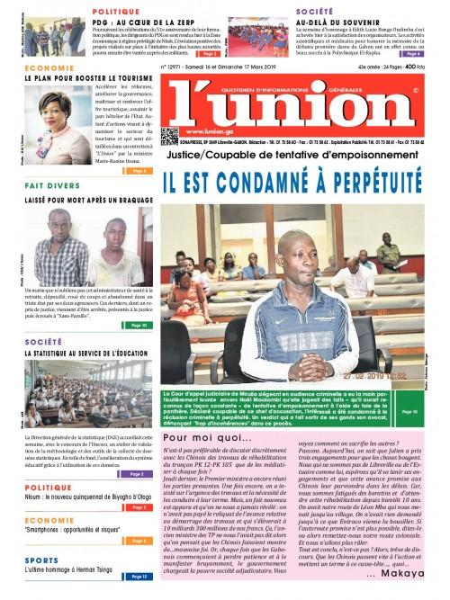 L'Union 16/03/2019