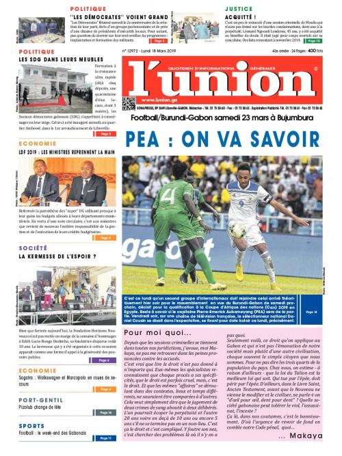 L'Union 18/03/2019