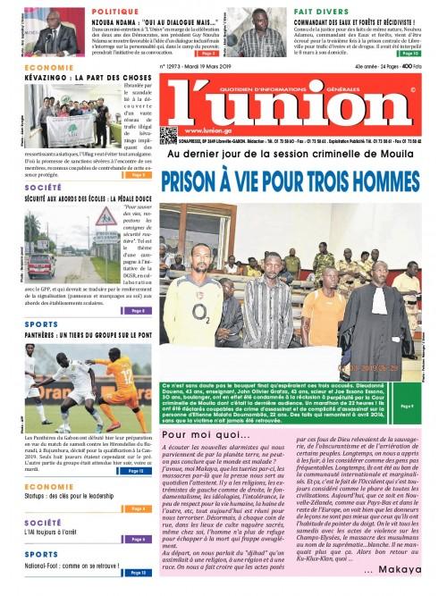 L'Union 19/03/2019