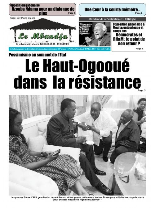 Le Mbandja 22/03/2019