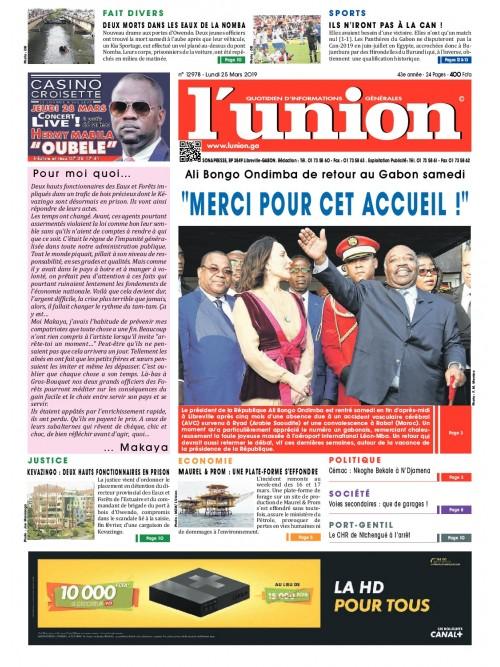 L'Union 25/03/2019