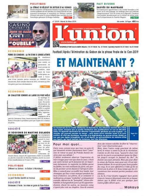 L'Union 26/03/2019