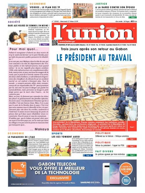 L'Union 27/03/2019