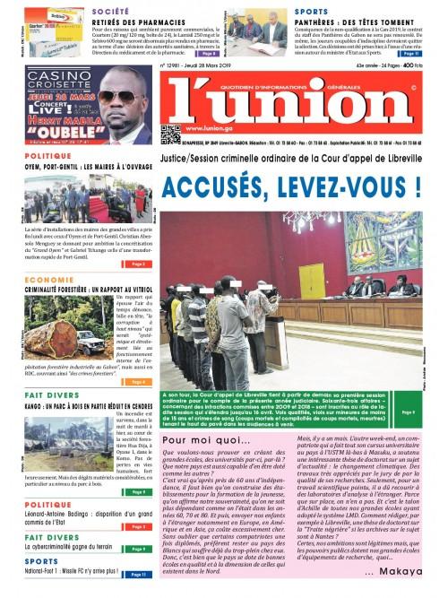 L'Union 28/03/2019