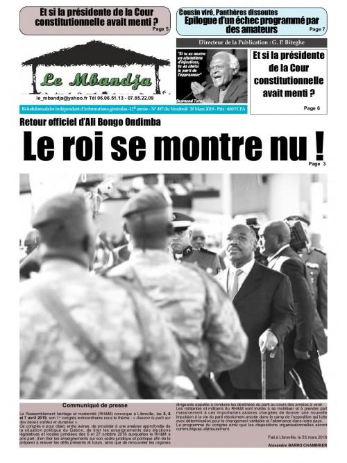Le Mbandja 29/03/2019