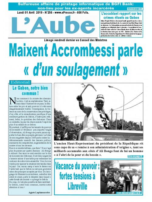 L'Aube 01/04/2019