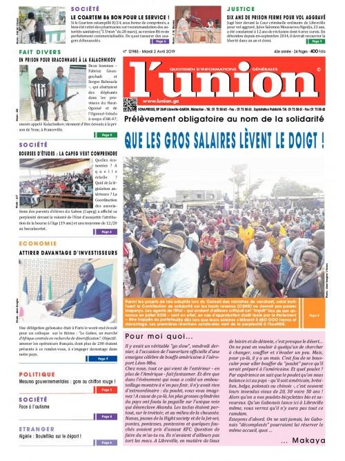 L'Union 02/04/2019