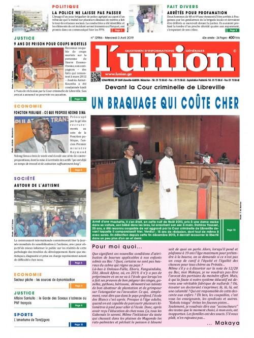 L'Union 03/04/2019