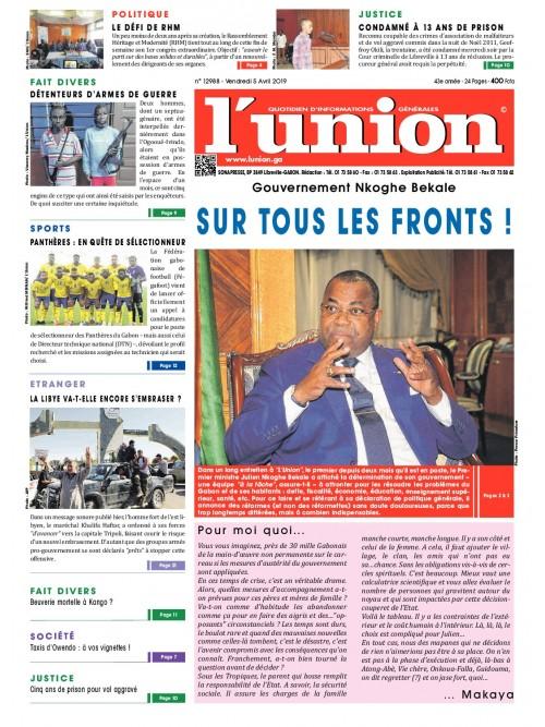 L'Union 05/04/2019