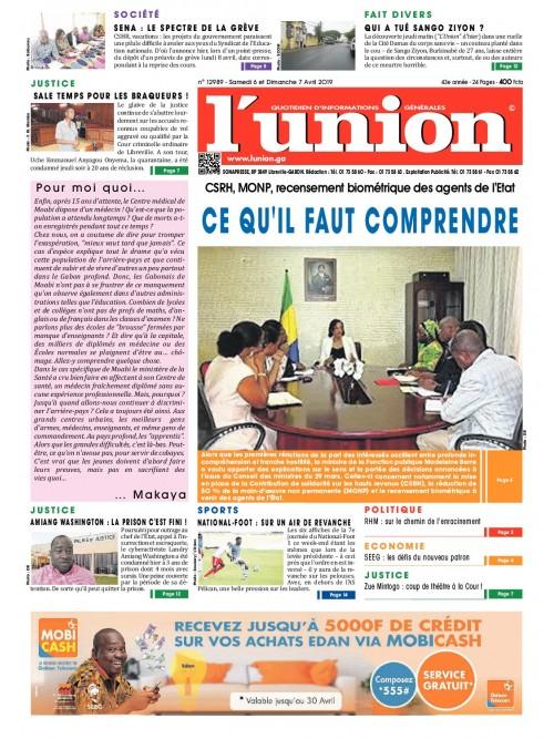 L'Union 06/04/2019
