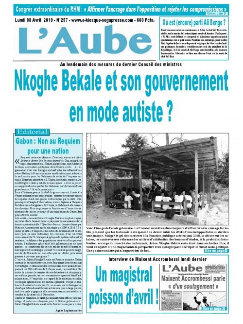 L'Aube 08/04/2019