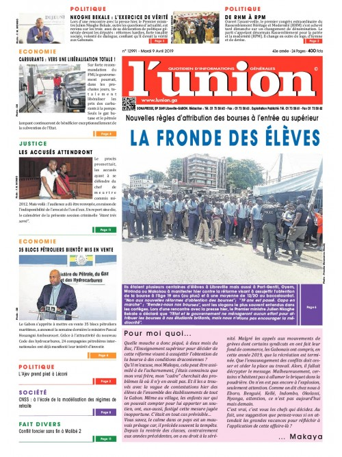 L'Union 09/04/2019