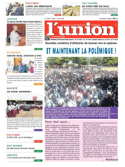 L'Union 11/04/2019