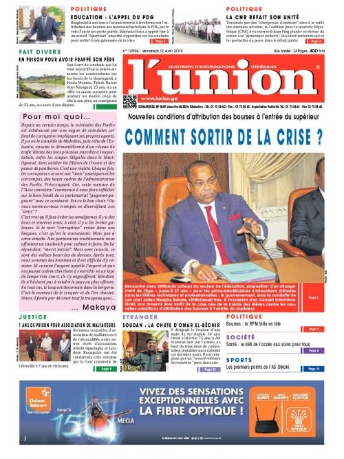 L'Union 12/04/2019