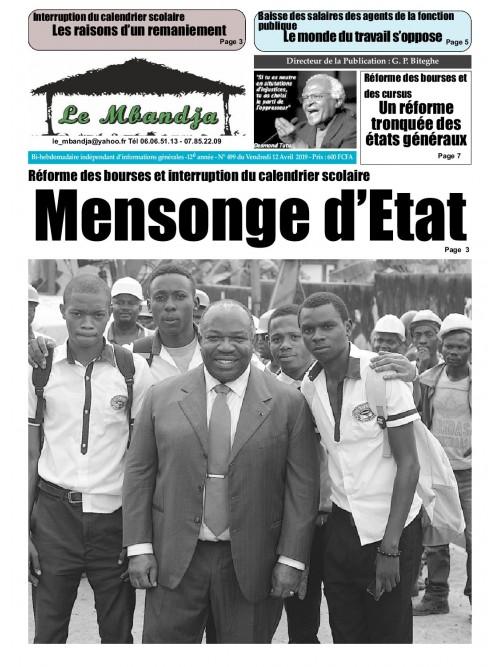 Le Mbandja 12/04/2019