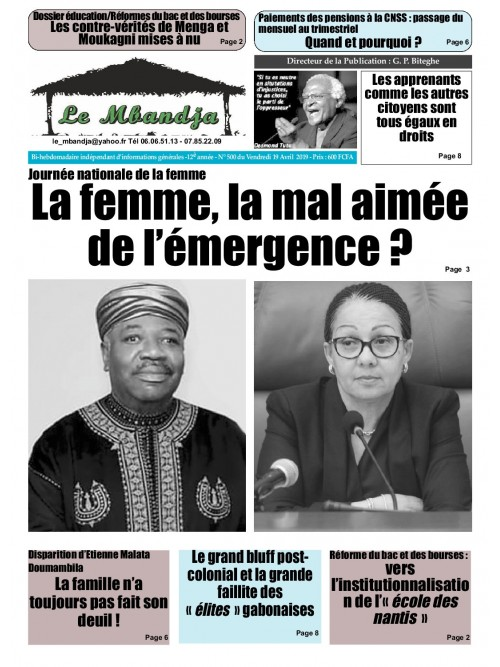 Le Mbandja 19/04/2019