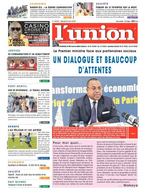 L'Union 23/04/2019