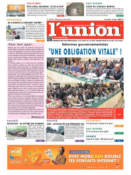 L'Union 24/04/2019