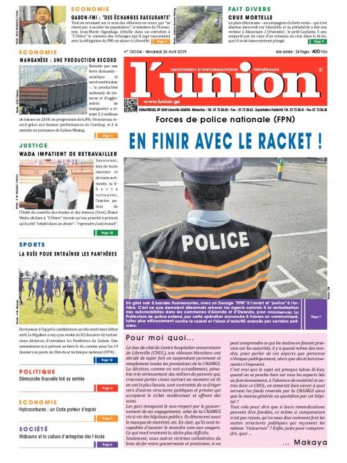 L'Union 26/04/2019