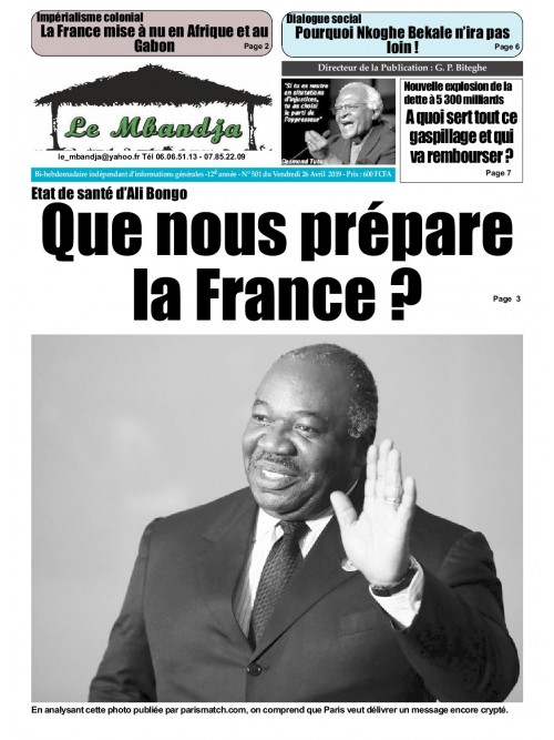 Le Mbandja 26/04/2019