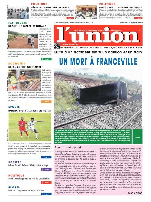 L'Union 27/04/2019