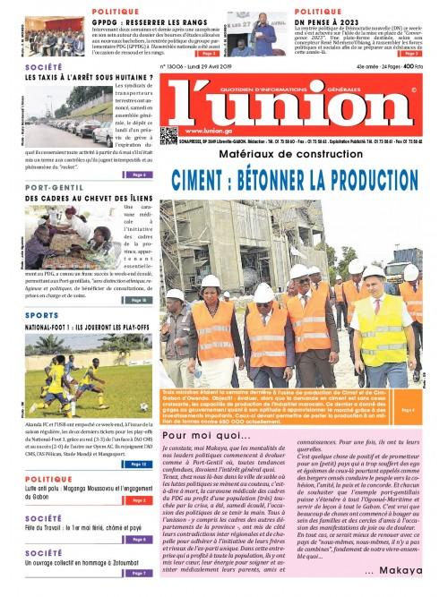 L'Union 29/04/2019