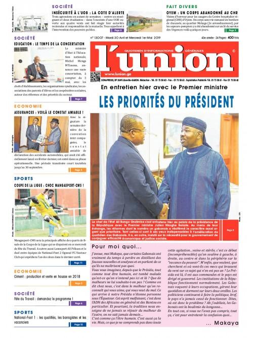 L'Union 30/04/2019