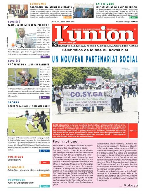 L'Union 02/05/2019