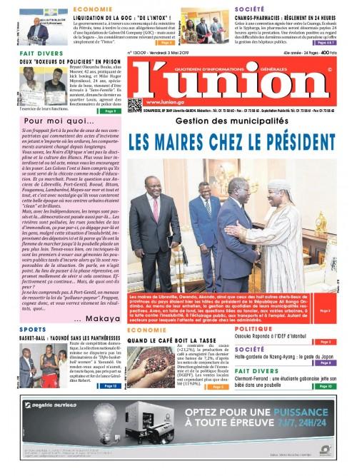 L'Union 03/05/2019