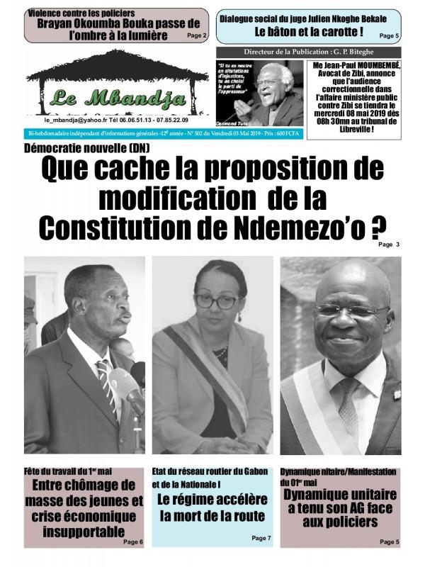 Le Mbandja 03/05/2019