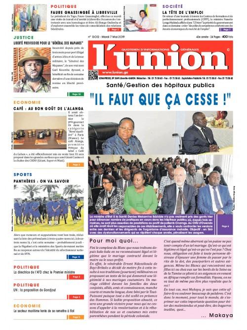 L'Union 07/05/2019