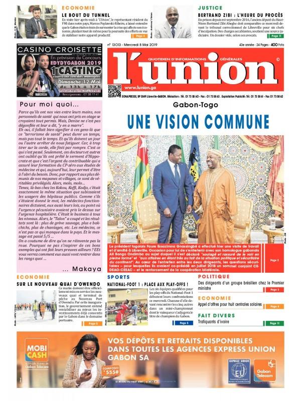 L'Union 08/05/2019