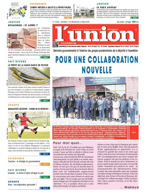 L'Union 11/05/2019