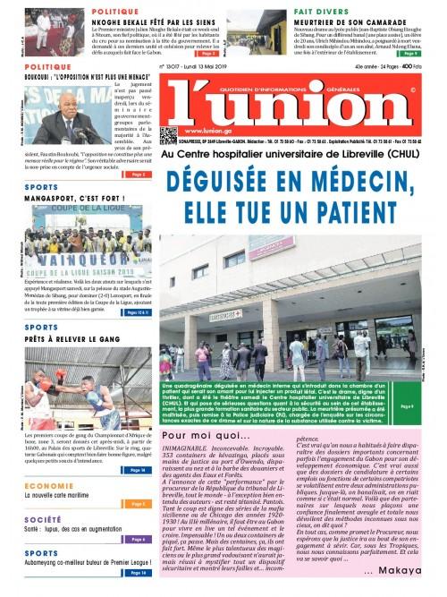 L'Union 13/05/2019