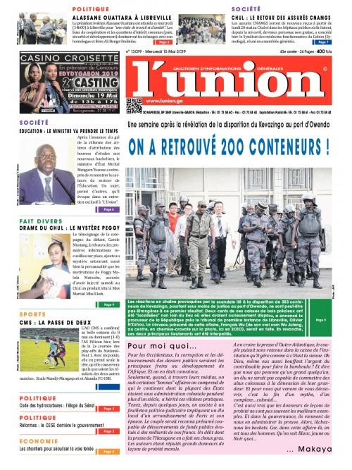L'Union 15/05/2019